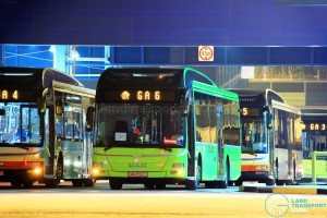 Tower Transit buses are presently deployed on Go-Ahead Employee Bus Routes