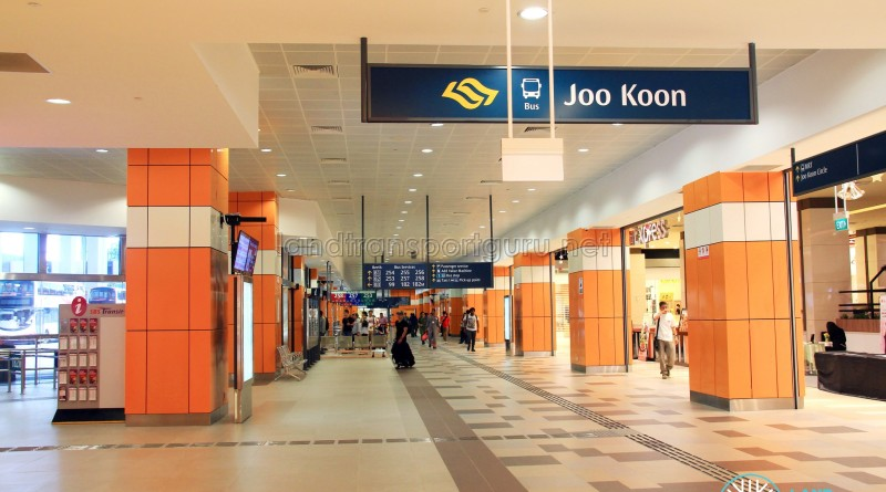 Joo Koon Interchange interior