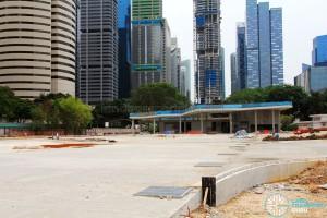 New Shenton Way Terminal under construction
