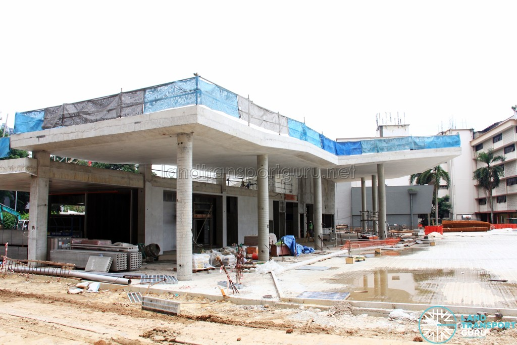New Shenton Way Terminal building under construction