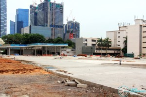 New Shenton Way Terminal under construction