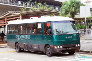 Bus-Plus Mitsubishi Rosa (PA1848U) – Service 825