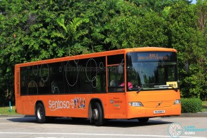 Volvo B7RLE (PA4144Y) on Sentosa Bus 3