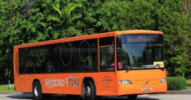 Volvo B7RLE (PA4144Y) on Sentosa Bus 3