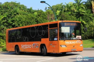 Volvo B7RLE (PA5279K) on Sentosa Bus 2