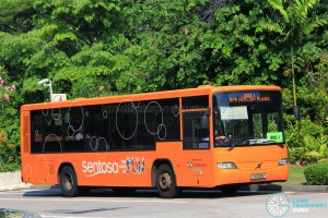 Volvo B7RLE (PA5286P) on Sentosa Bus 1