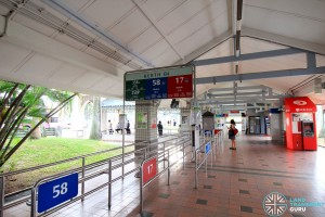 Pasir Ris Bus Interchange - Berth B4
