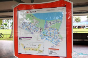 Pasir Ris Bus Interchange - SBS Transit locality map