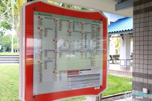 Pasir Ris Bus Interchange - SBS Transit Bus Information