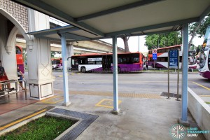 Pasir Ris Bus Interchange - Wheelchair boarding area