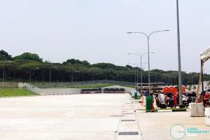 SMRT Bulim Depot - Bus Park