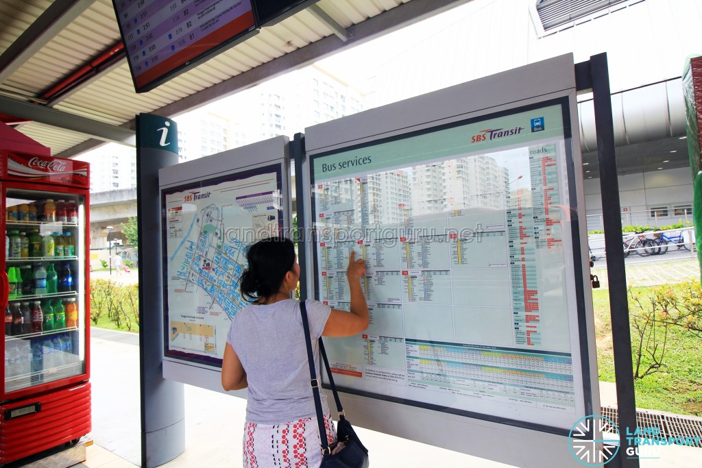 Route information boards to be replaced by Go-Ahead (Aug 2016)