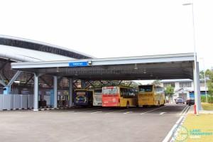 Gelang Patah Bus Terminal - Bus Park