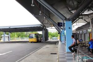 Gelang Patah Bus Terminal - Boarding Berth