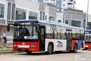 Maju Higer KLQ6128G (JPX9201) - Route P102
