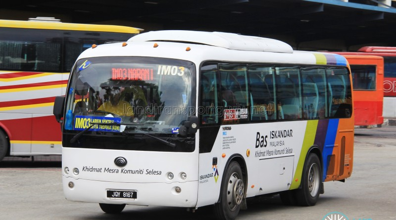 Causeway Link Yutong ZK6800HNGAA (jQY8167) - Route IM03