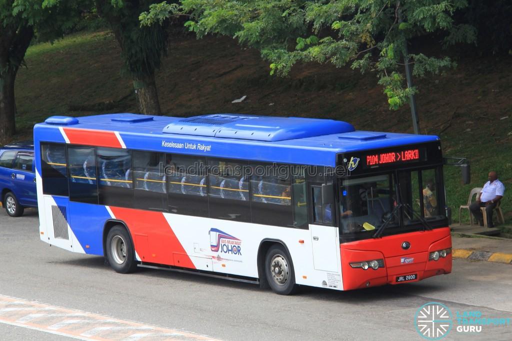 Causeway Link Yutong ZK6118HGA (JRL2600) - Route P104