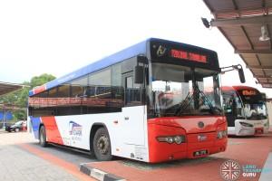 Causeway Link Yutong ZK6118HGA (JRL2712) - Route P201