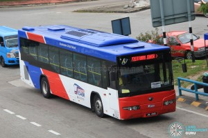 Causeway Link Yutong ZK6118HGA (JRL4045) - Route P203