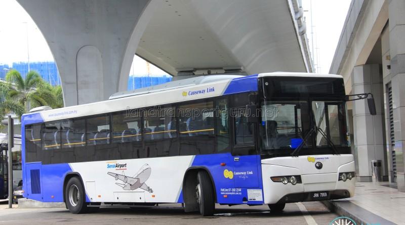 Causeway Link Yutong ZK6118HGA (JRN7579) - Senai Airport Express
