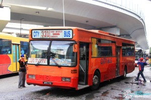 City Bus Mercedes-Benz OH1318 (WFM7710) – Route 331