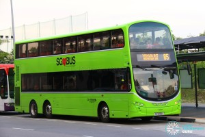 Go-Ahead Volvo B9TL Wright (SG5056U) - Service 85