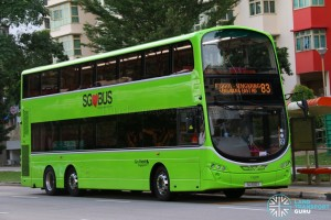 Go-Ahead Volvo B9TL Wright (SG5110X) - Service 83