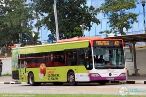 SBST Mercedes-Benz Citaro (SBS6621U) - Service 48