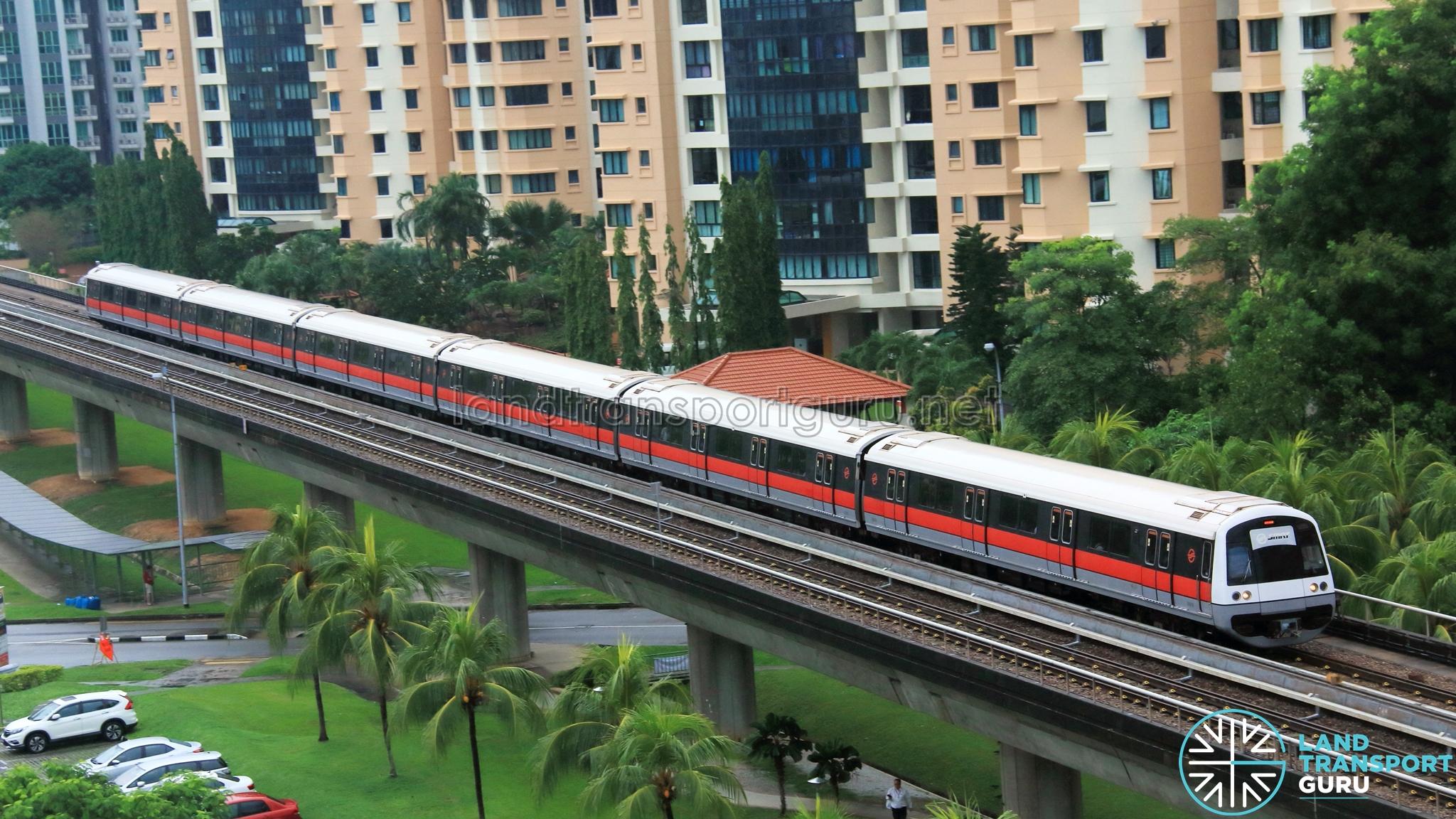 SMRT C751B Train
