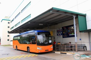 Giant Hypermart Stop for Tampines Retail Park Shuttle