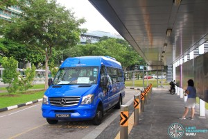 Buona Vista MRT Stop for IKEA Alexandra Shuttle