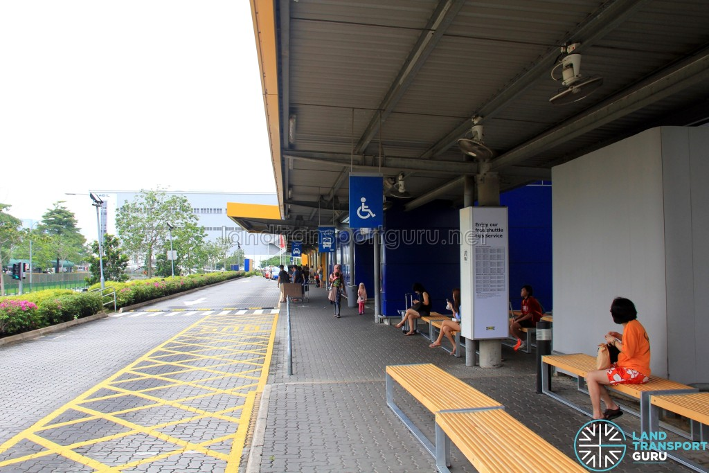 IKEA Tampines Stop for Tampines Retail Park Shuttle