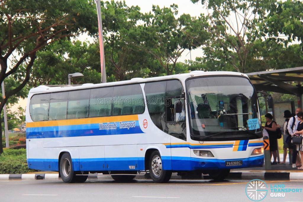 Woodlands Transport Service Isuzu LT134P (PA6369C) - City Direct 655