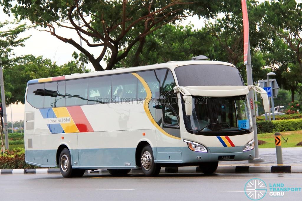 Rui Feng Chartered Isuzu LT434P (PA91S) - City Direct 672