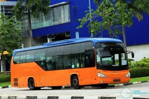 ComfortDelGro Scania K230UB (PA9799A) - Tampines Retail Park Shuttle (Sengkang route)
