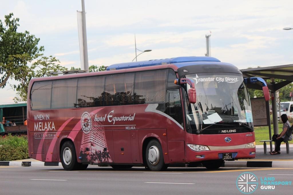 Transtar Travel & Tours King Long XMQ6117K (PC296H) - City Direct 657