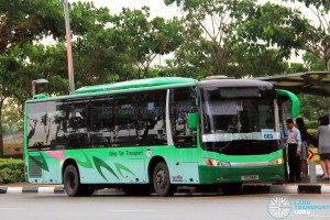 Tong Tar Transport Service Zhongtong LCK6103G (PC318D) - City Direct 669