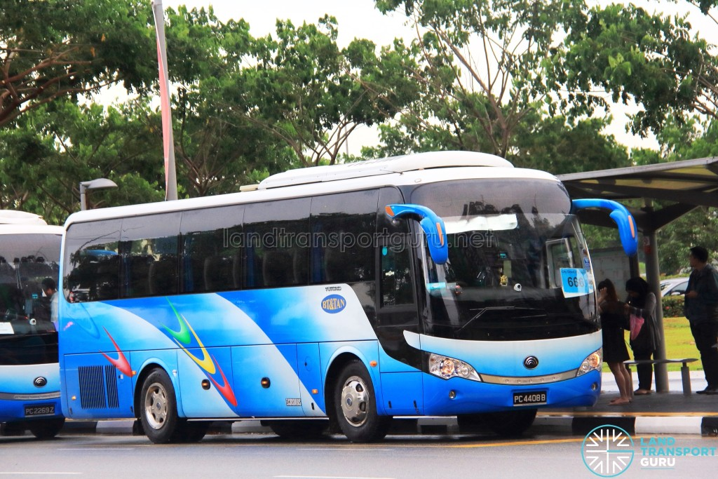 BT&Tan Bus Transport Service Yutong ZK6938H (PC4408B) - City Direct 666