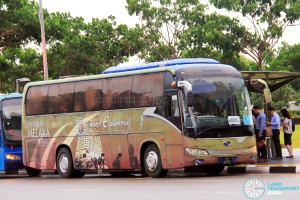 Transtar Travel & Tours King Long XMQ6117K (PC499P) - City Direct 657