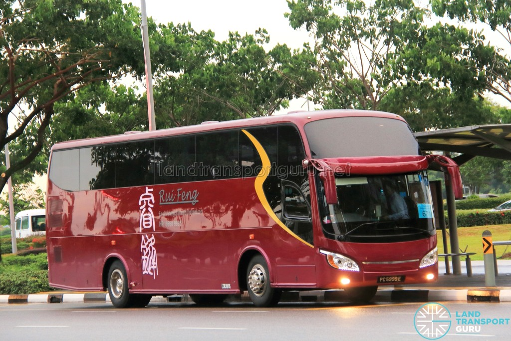 Rui Feng Travel Isuzu LT434P (PC5999E) - City Direct 671