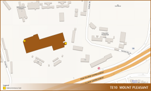 Mount Pleasant TEL Station Diagram
