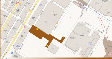 Shenton Way TEL Station Diagram