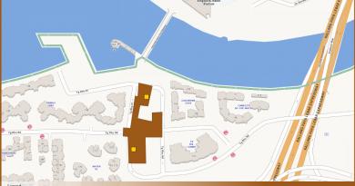 Tanjong Rhu TEL Station Diagram