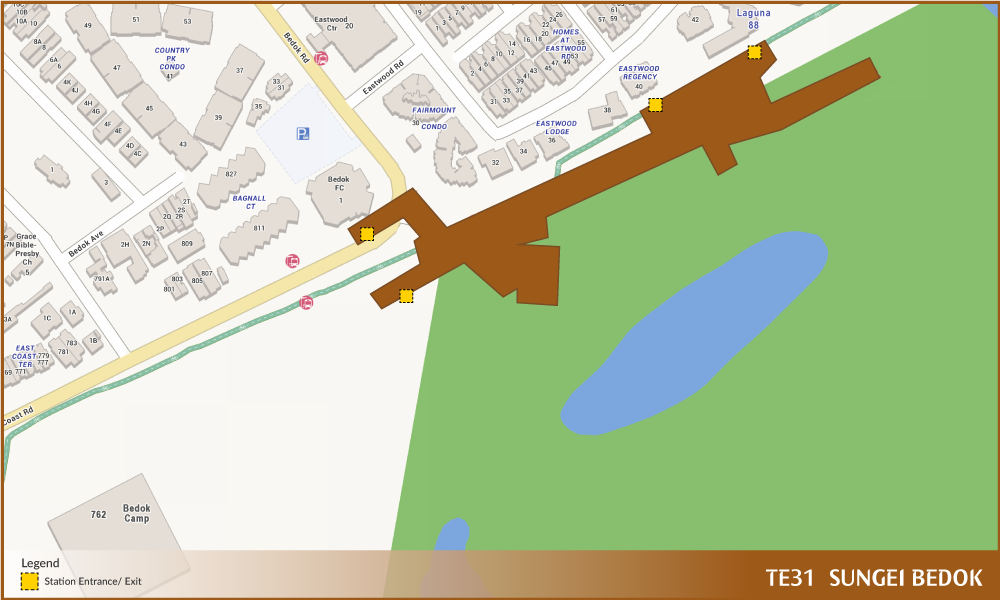 Sungei Bedok Tel Station Diagram  U2013 Land Transport Guru