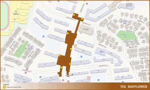 Mayflower TEL Station Diagram