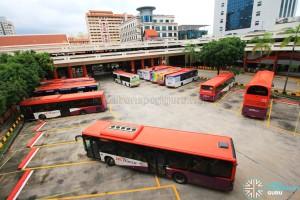 Bishan Interchange - Bus Park