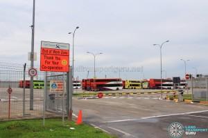 Changi Bus Park Entrance