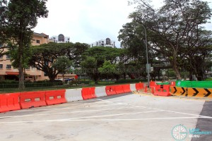 Seletar Bus Depot (Bus Park) - Access Road from Lentor Avenue