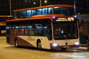 SBST Mercedes-Benz O530 Citaro (SG1105M) - Service 127A