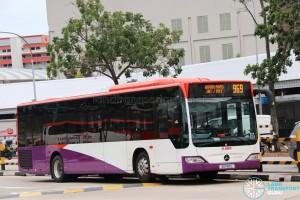 SMRT Mercedes-Benz Citaro O530 (SG1183L) - Service 969